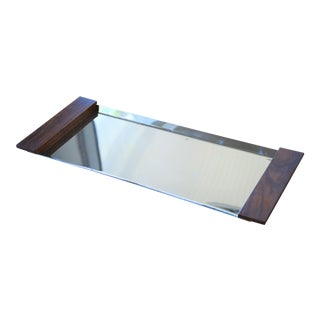 Mid-Century Modern Chrome Tray