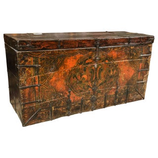 Chinese Trunk Blanket Chest