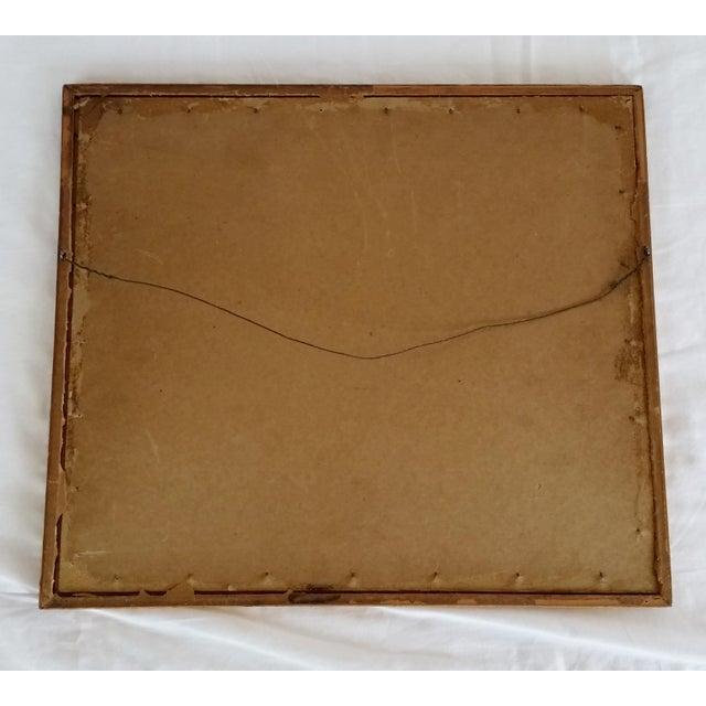 "Image of Framed & Signed Print, ""Boats at Low Tide"""