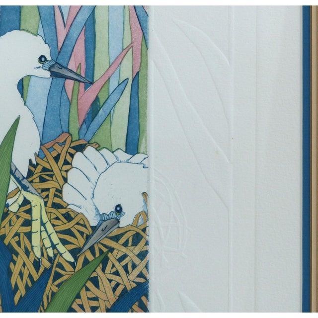 "Judith Hall ""The Rookery"" Intaglio Print - Image 7 of 10"
