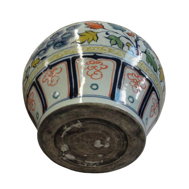 Chinese Graphic Phoenix Display Pot Planter - Image 4 of 5