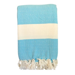 Turkish Turquoise Coverlet