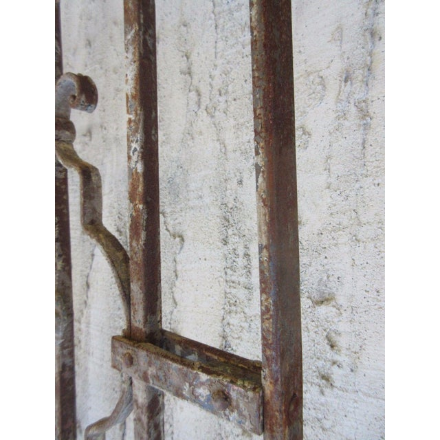 Antique Victorian Iron Gate or Garden Fence - Image 6 of 7