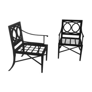 Custom Made Designer Patio Chairs- Set of 6