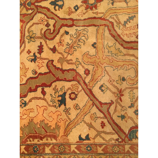 """Vintage Hand Knotted Rug - 8'6"""" X 12' - Image 3 of 4"""
