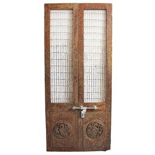 Antique Teak & Iron Doors