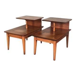 Mid-Century Modern Side Table - A Pair