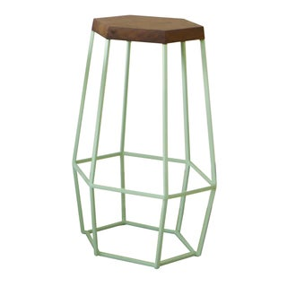 Timber & Ore Mint Bar Stool by WoodSmithe- 3 Avail