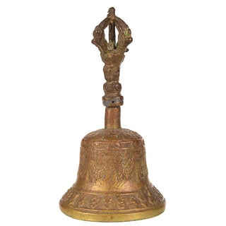 Antique Bronze Desk Bell