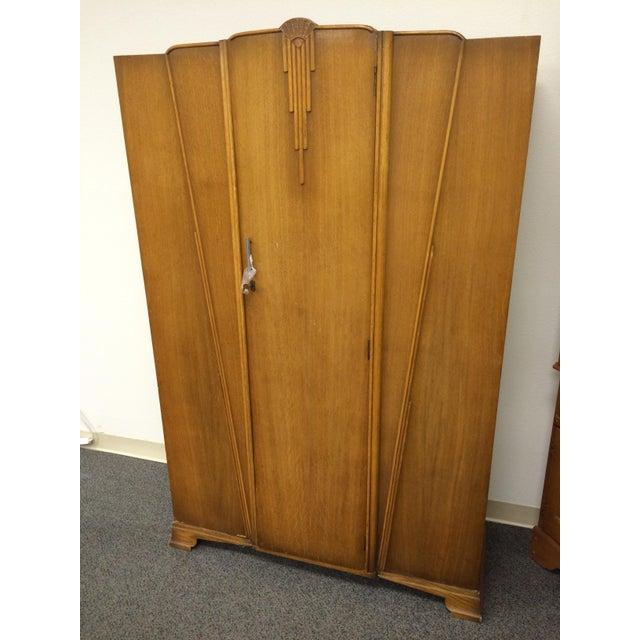 cws london vintage 1935 armoire chairish
