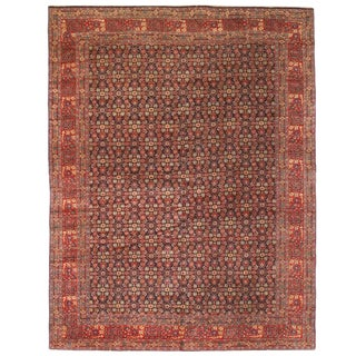 Extremely Fine Antique Late 19th Century Persian Senna Carpet