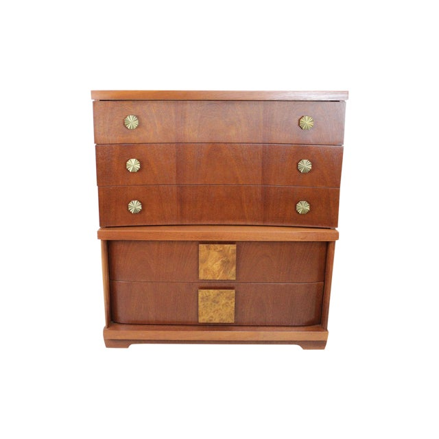 Mid-Century Modern Chest by Bassett - Image 1 of 9