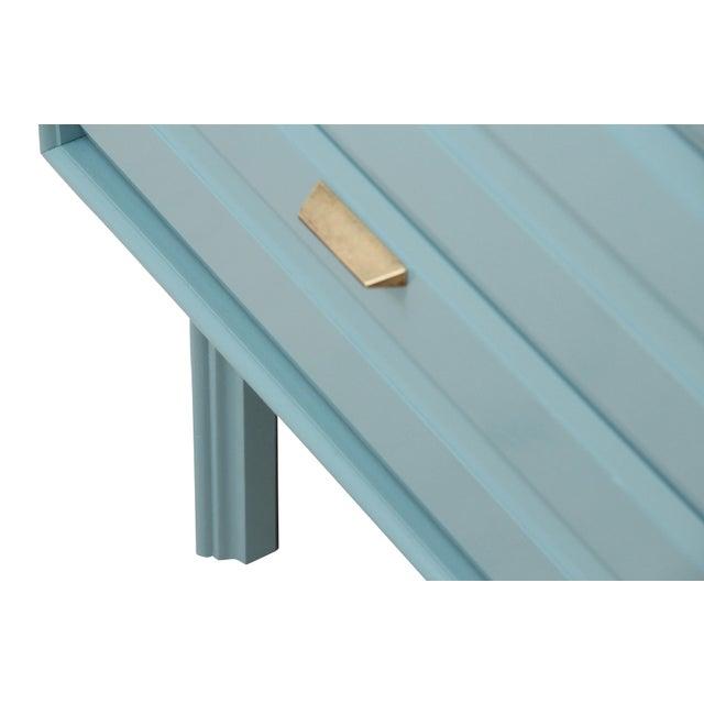 Mid-Century Blue Dresser - Image 2 of 7