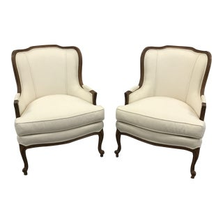 "Ethan Allen ""Giselle"" Chairs - A Pair"
