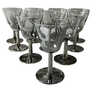 French Ombre Mercury Cordials - Set of 10