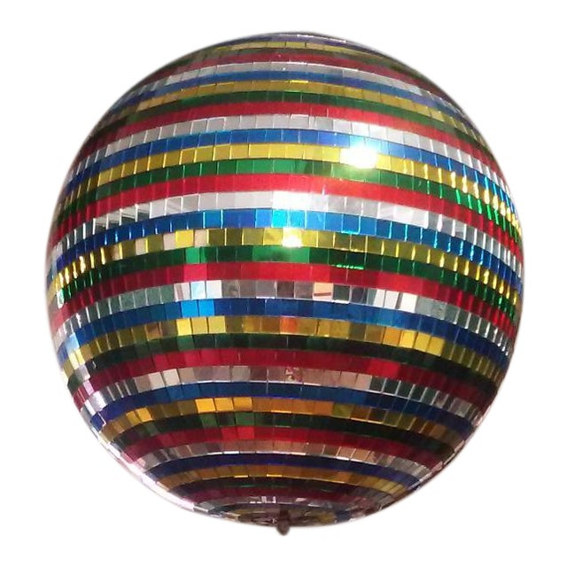 Image of Vintage 1970's Disco Ball