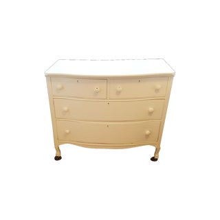 Painted White Wooden Dresser