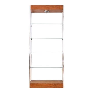 Vintage used mid century modern furniture decor - Etagere roche bobois ...