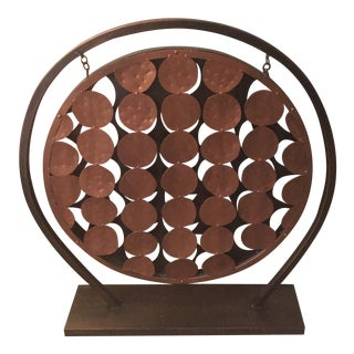 Copper Sculpture With Stand