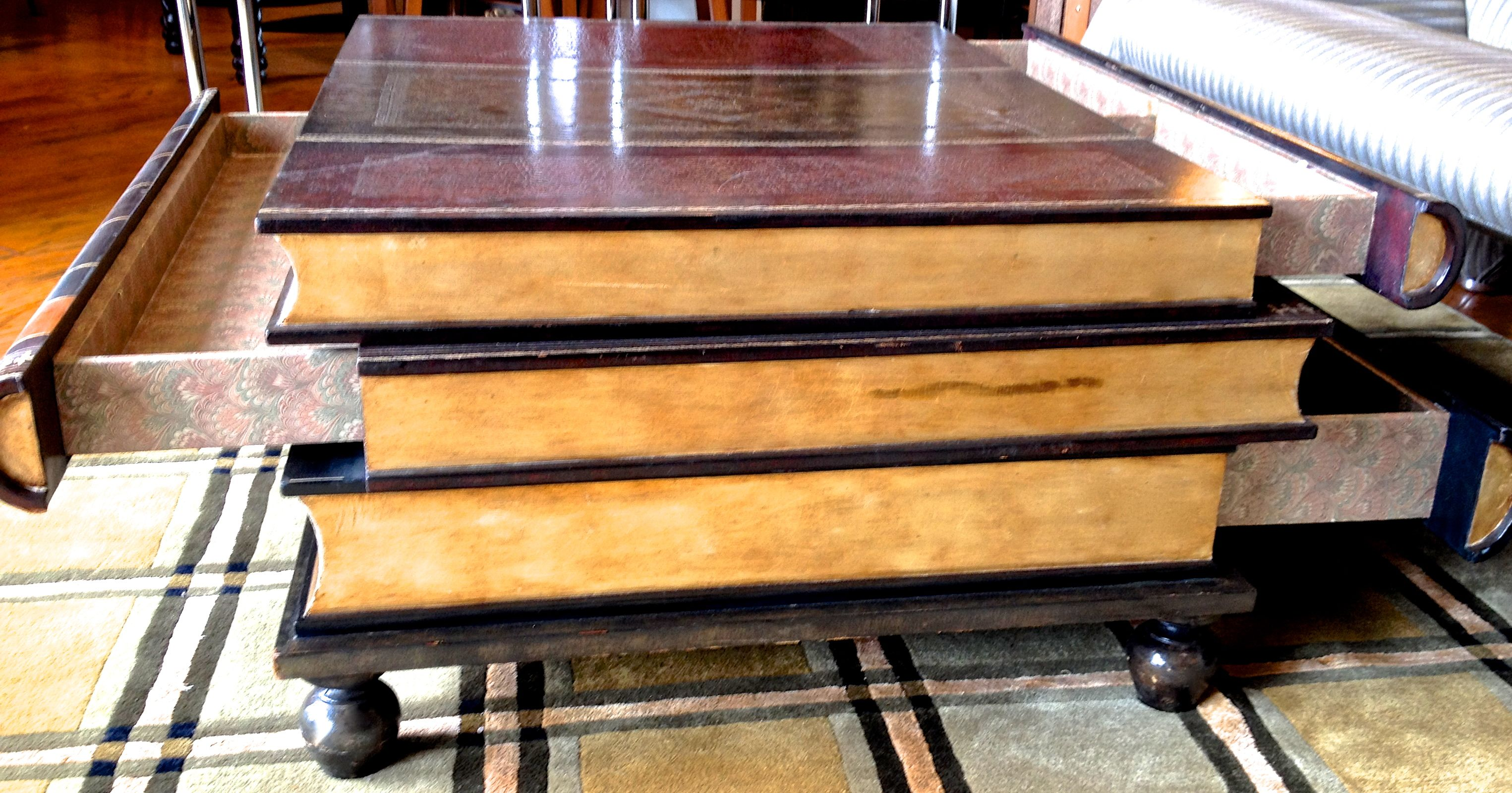 maitland smith book coffee table. this maitland smith stacked