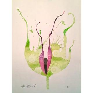 Amphibious Greens Original Watercolor
