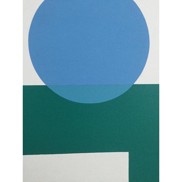 1971 Hard Edge Abstract Fredrick Gaertner - Image 4 of 10