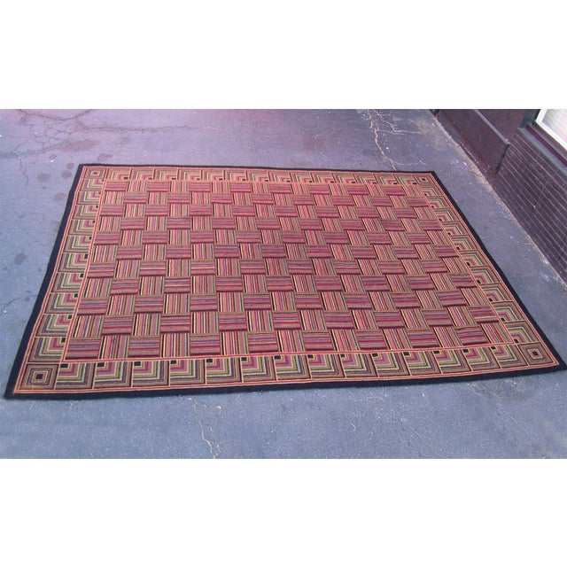 "Basket Weave Pattern Rug - 8'8"" x 10'3"" - Image 3 of 6"