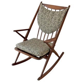 Danish Modern Teak Frank Reenskaug Rocking Chair