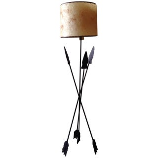 Mid Century Spear Lamp