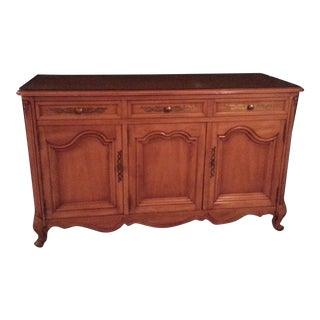 Country French Provinical Buffet \ Credenza
