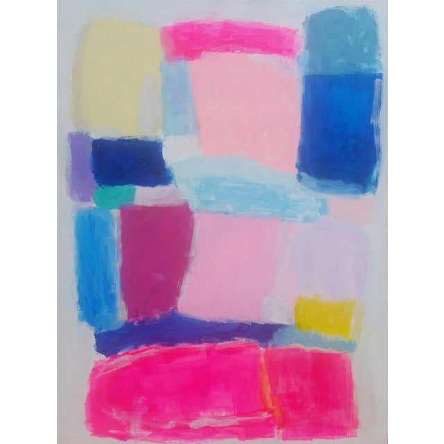 Susie Kate Colorful, Original Abstract Painting - Image 3 of 3