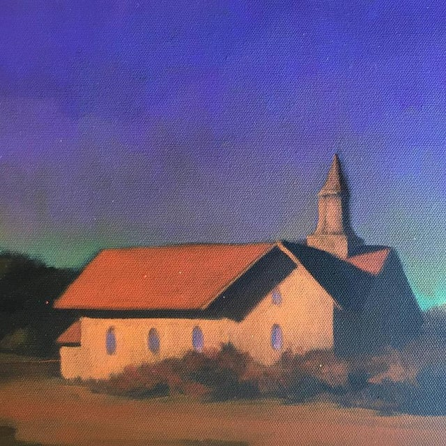 """Chapel on the Pond, North Truro"" Painting - Image 4 of 7"