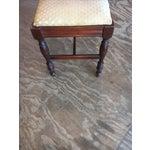 Image of Antique Bedroom Vanity Bench