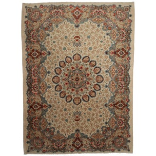 Hand Knotted Persian Kashar Rug - 10′3″ × 14′3″
