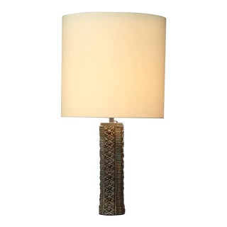 Bronze Sculptural Table Lamp. Manner of Angelo Brotto, France, 1950s