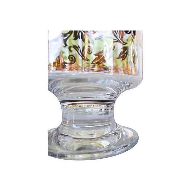 Midcentury Holiday Beverage Glasses - Set of 8 - Image 4 of 6