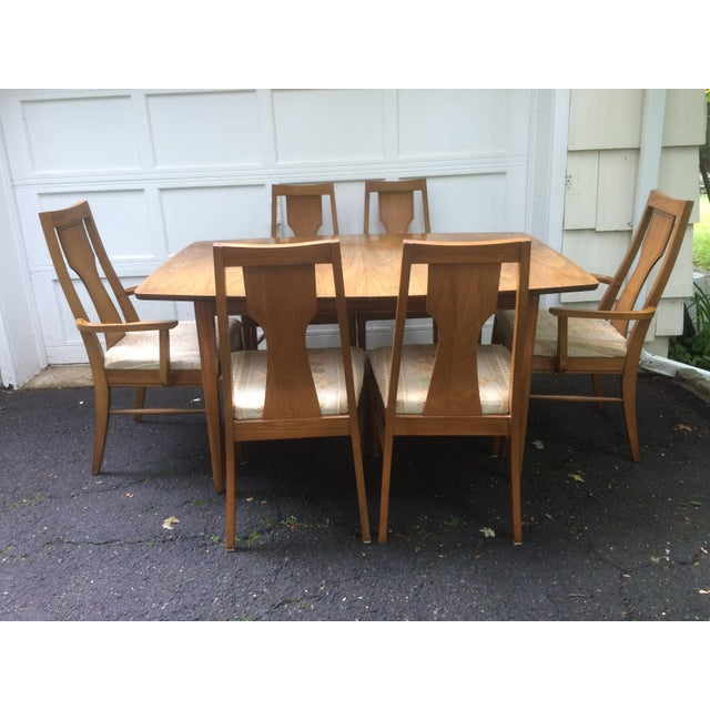 Kent Coffey Perspecta Series Dining Table   6 Chairs Set   Image 2 of 11. Kent Coffey Perspecta Series Dining Table   6 Chairs Set   Chairish