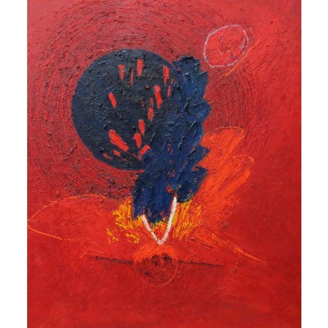Image of Jose Ramon Lerma Vintage Abstract Painting