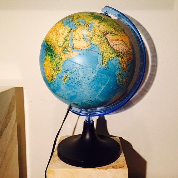Rico Nova Illuminated Globe Chairish