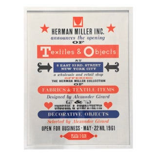 Herman Miller Textiles & Objects Print Only