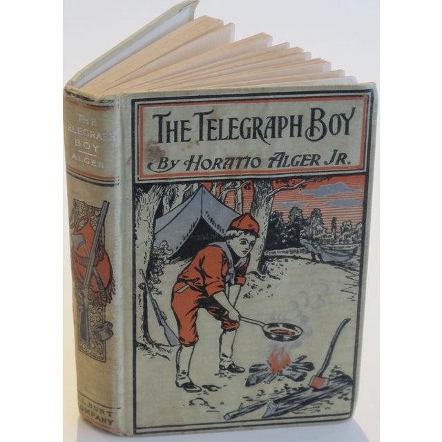 "Horatio Alger ""The Telegraph Boy"" 1909 Book - Image 2 of 3"