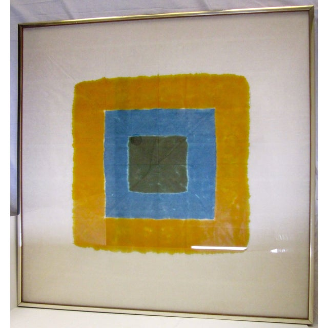 Image of Josef Albers att Modern Abstract Square Artwork