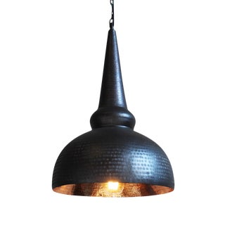 Industrial Copper Lantern