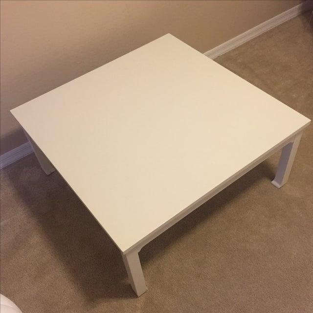 White Gloss Coffee Table Chairish