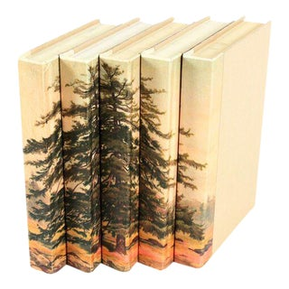 Image Collection Spruce Tree Books Books - Set of 5