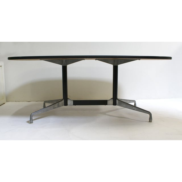 eames for herman miller mid century dining table chairish. Black Bedroom Furniture Sets. Home Design Ideas