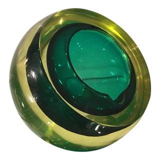 Vintage Murano Italian Art Glass Ashtray