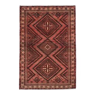 "BAKHTIAR Vintage Persian Rug, 5'3"" x 7'11"" feet"