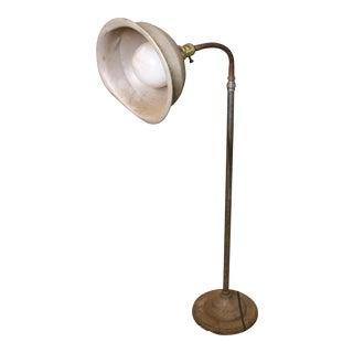 Vintage Industrial Steampunk Floor Lamp