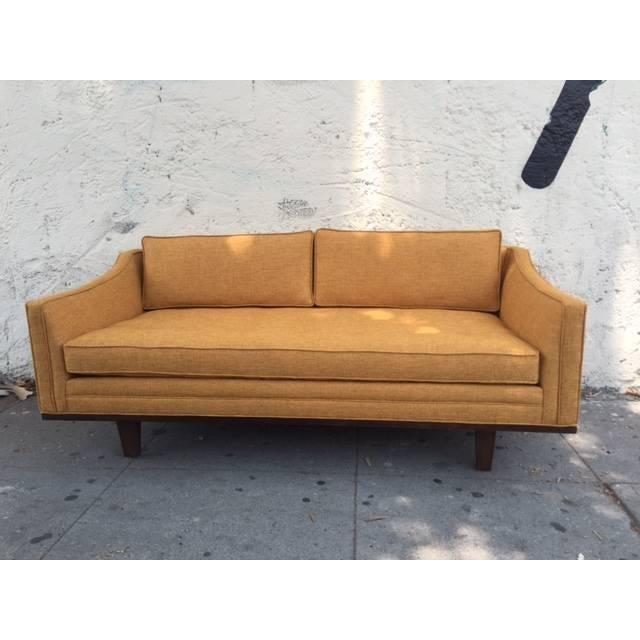 Mid Century Style Custom Love Seat Chairish